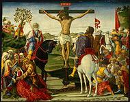 The Crucifixion by Benvenuto di Giovanni
